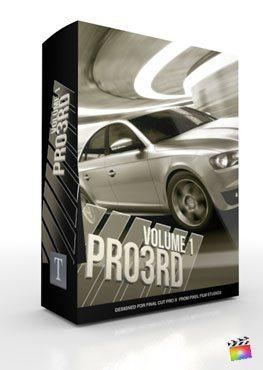 Final Cut Pro X Plugin Pro3rd Volume 1 from Pixel Film Studios
