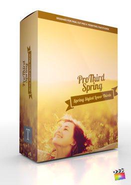 Final Cut Pro X Plugin Pro3rd Spring