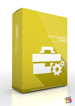 Final Cut Pro X Plugin FCPX Toolbox Volume 2 from Pixel Film Studios