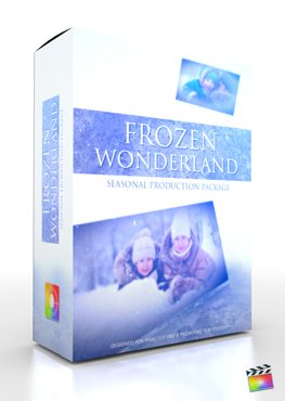 Final Cut Pro X Plugin Production Package Frozen Wonderland from Pixel Film Studios