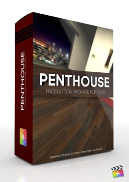 Final Cut Pro X Plugin Production Package Penthouse from Pixel Film Studios