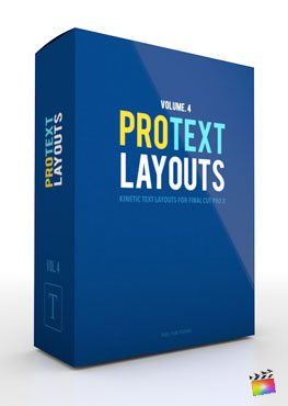 Final Cut Pro X Plugin ProText Layouts Volume 4 from Pixel Film Studios