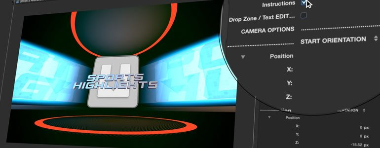 Professional - 3D Sports Production Package for Final Cut Pro X