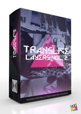 Final Cut Pro X Plugin TranSlice Layers Volume 2 from Pixel Film Studios