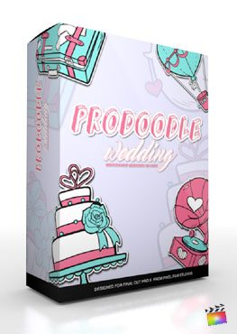 Final Cut Pro X Plugin ProDoodle Wedding from Pixel Film Studios