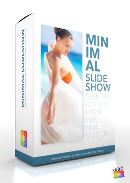 Final Cut Pro X Plugin Production Package Minimal Slideshow from Pixel Film Studios