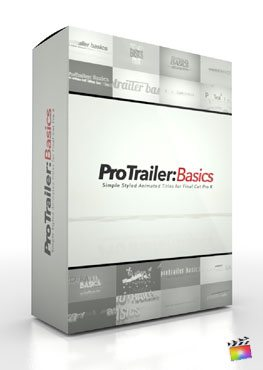 Final Cut Pro X Plugin ProTrailer Basics from Pixel Film Studios