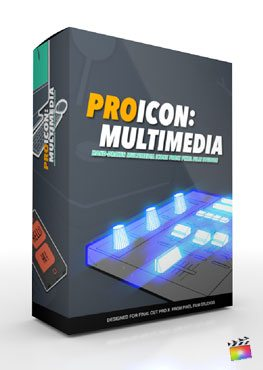 Final Cut Pro X Plugin ProIcon Multimedia from Pixel Film Studios