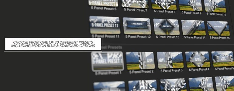Professional - Final Cut Pro X Plugin ProSlice Geometric