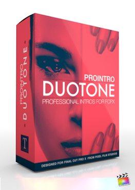 Final Cut Pro X Plugin ProIntro Duotone from Pixel Film Studios
