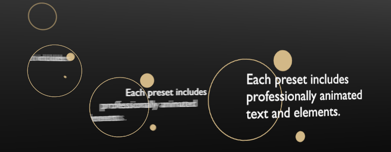Professional - Self-Animating Paragraphs - for Final Cut Pro X