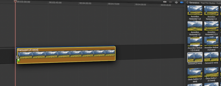 Slideshow Theme for FCPX