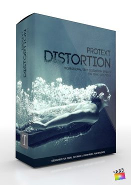 Final Cut Pro X Plugin Production Package ProText Distortion from Pixel Film Studios
