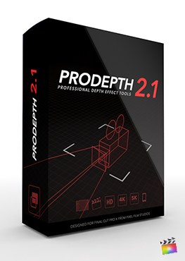 Final Cut Pro X Plugin ProDepth 2.1 from Pixel Film Studios