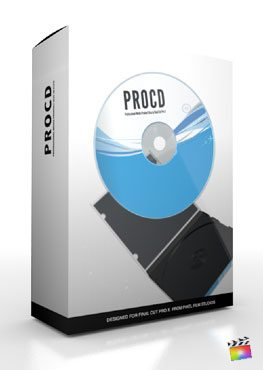 Final Cut Pro X Plugin ProCD from Pixel Film Studios
