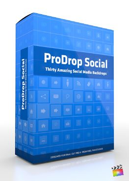 Final Cut Pro X Plugin ProDrop Social from Pixel Film Studios