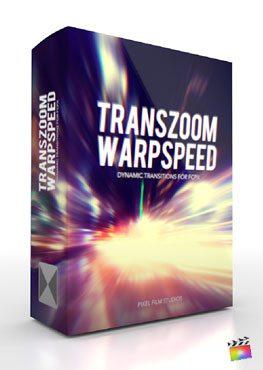 Final Cut Pro X Plugin TransZoom Warpspeed from Pixel Film Studios