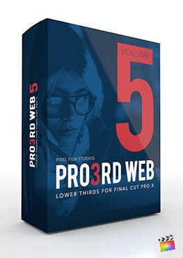 Final Cut Pro X Plugin Pro3rd Web Volume 5 from Pixel Film Studios