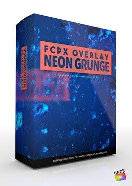 Final Cut Pro X Plugin FCPX Overlay Neon Grunge from Pixel Film Studios