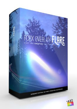 Final Cut Pro X Plugin FCPX Overlay Flare from Pixel Film Studios
