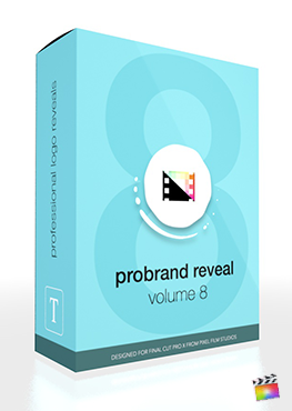 Final Cut Pro X Plugin ProBrand Reveal Volume 8 from Pixel Film Studios