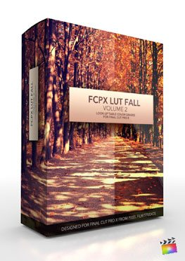 Final Cut Pro X Plugin FCPX LUT Fall Volume 2 from Pixel Film Studios