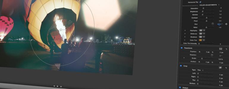 Final Cut Pro X Plugin ProFlare 5K: Jewel