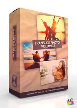Translice Photo Volume 2 - Photo Inspired Transitions for FCPX from Pixel Film Studios