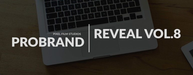 Final Cut Pro X Plugin ProBrand: Reveal Volume 8 from Pixel Film Studios