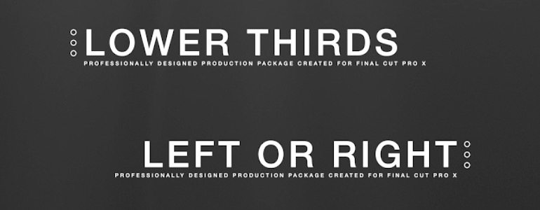 Professional - Camera Slideshow Themes for Final Cut Pro X