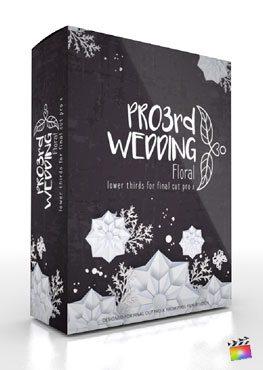 Final Cut Pro X Plugin Pro3rd Wedding Floral from Pixel Film Studios
