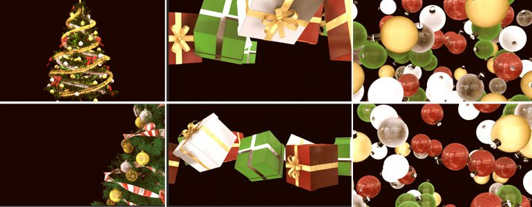 TransChristmas - Holiday Transitions- for Final Cut Pro X from Pixel Film Studios