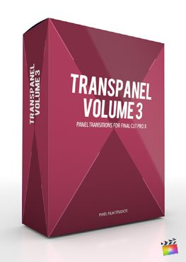Final Cut Pro X Plugin TransPanel Volume 3 from Pixel Film Studios