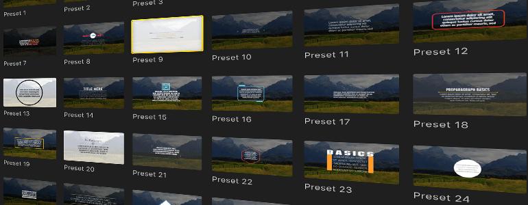 Final Cut Pro X Plugin ProParagraph: Basics from Pixel Film Studios