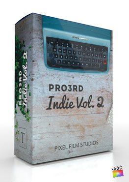Final Cut Pro X Plugin Pro3rd Indie Volume 2 from Pixel Film Studios