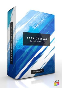 Final Cut Pro X Plugin FCPX Overlay Paint Strokes from Pixel Film Studios
