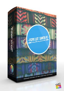 Final Cut Pro X Plugin FCPX LUT Santa Fe from Pixel Film Studios