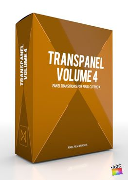 Final Cut Pro X Transition TransPanel Volume 4 from Pixel Film Studios