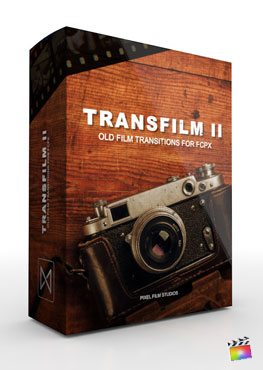 Final Cut Pro X Transition Transfilm Volume 2 from Pixel Film Studios