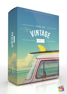 Final Cut Pro X Plugin FCPX LUT Vintage Volume 2 from Pixel Film Studios