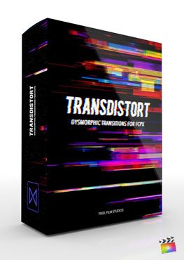 Final Cut Pro X transition TransDistort from Pixel Film Studios