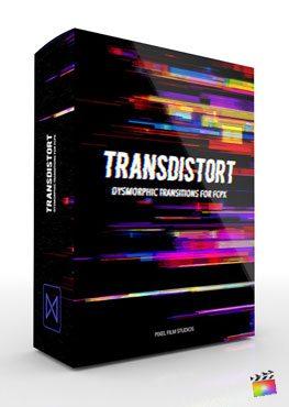 Final Cut Pro X transition TransDistort from Pixel Film Studios
