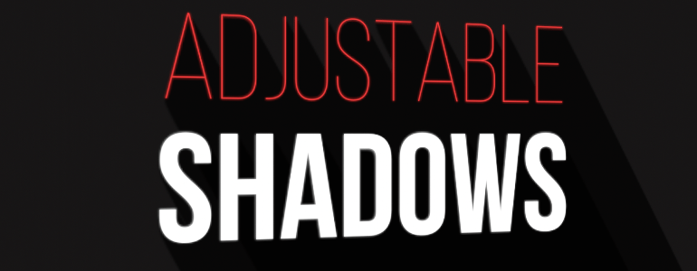 Final Cut Pro X Plugin ProText Layouts Shadows
