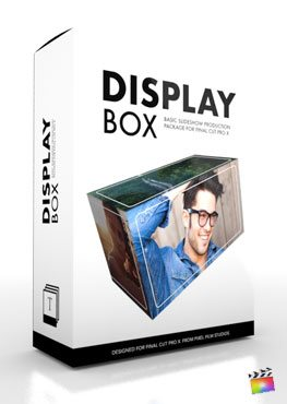 Final Cut Pro X Production Package Display Box from Pixel Film Studios