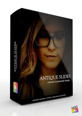 Final Cut Pro X Production Package Antique Slides from Pixel Film Studios