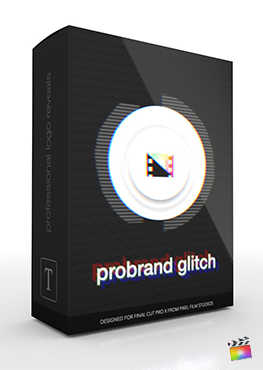 Final Cut Pro X Plugin ProBrand Glitch from Pixel Film Studios