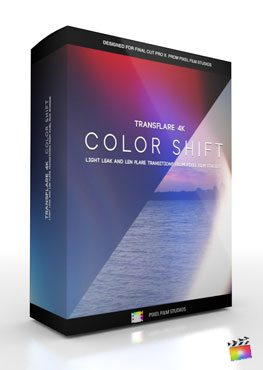 Final Cut Pro X Plugin TransFlare 4K Color Shift from Pixel Film Studios