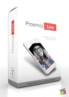 Final Cut Pro X Plugin ProEmoji Live from Pixel Film Studios