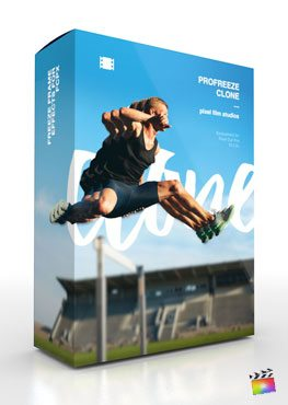 Final Cut Pro X Plugin ProFreeze Clone from Pixel Film Studios