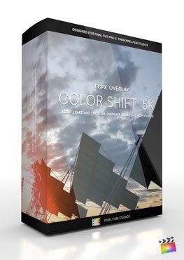 Final Cut Pro X Plugin FCPX Overlay 5K Color Shift from Pixel Film Studios